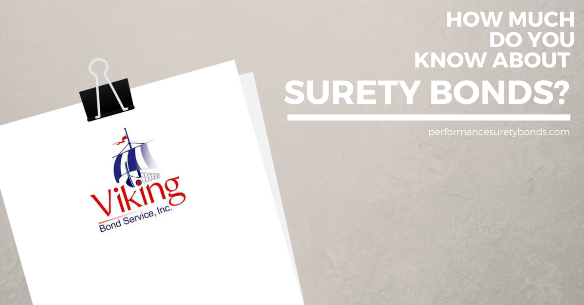 surety bonds quiz